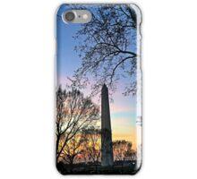 Washington D.C. (Washington Monument) at Sunset iPhone Case/Skin