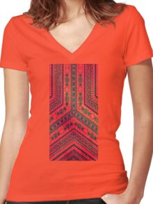 Arrow Blood Women's Fitted V-Neck T-Shirt