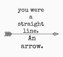 an arrow Kids Tee