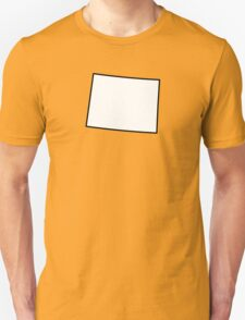Wyoming State Outline T-Shirt