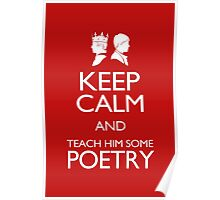 Keep Calm and Poetry Poster