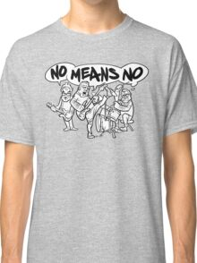 NoMeansNo Cartoon Classic T-Shirt