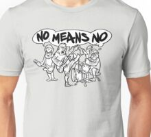 NoMeansNo Cartoon Unisex T-Shirt
