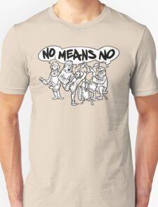 NoMeansNo Cartoon Unisex T-Shirt