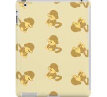 Background of the monkeys iPad Case/Skin