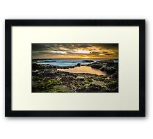 Sunset at Cape Schanck Framed Print