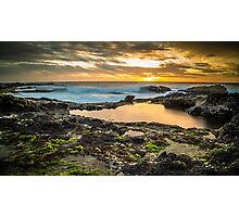 Sunset at Cape Schanck Photographic Print