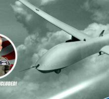 Drone Commander Sticker