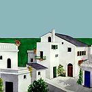 VILLAGE IN GREECE by RainbowArt