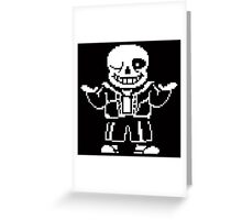Undertale - Megalovania Greeting Card