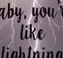 jar lightning Sticker
