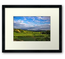 Beautiful valley in Pai, Thailand Framed Print