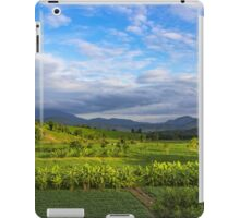 Beautiful valley in Pai, Thailand iPad Case/Skin