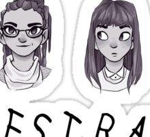 sestras orphan black clone club  Sticker