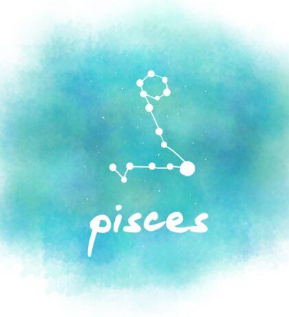 Pisces Constellation Sticker