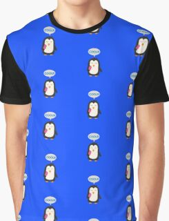 Penguin with popsicles   Graphic T-Shirt