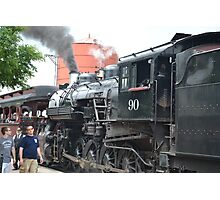 Train in Strasburg, PA Photographic Print