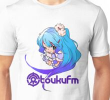 Chibi Yukiko (Colorful on Bright) Unisex T-Shirt