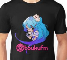 Chibi Yukiko (Colorful on Dark) Unisex T-Shirt