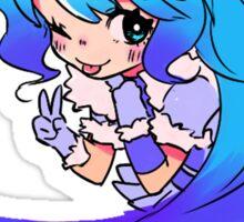 Chibi Yukiko (Colorful on Dark) Sticker