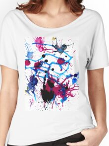 Colorful Paint Drips 13 Women's Relaxed Fit T-Shirt