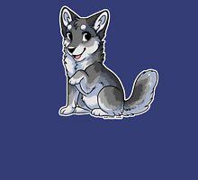 Little Wolf - Grey Unisex T-Shirt