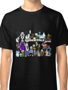 Undertale - Background Classic T-Shirt