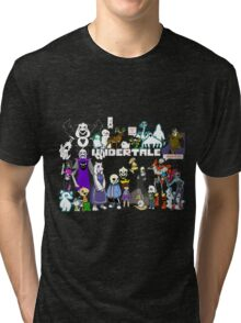 Undertale - Background Tri-blend T-Shirt