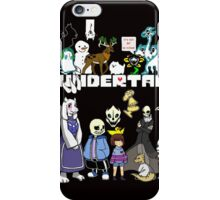 Undertale - Background iPhone Case/Skin