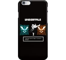 Undertale - Wallpeper iPhone Case/Skin