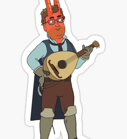 HarmonQuest: Tech Powers Sticker