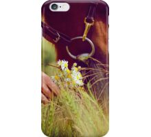 Horse Nose and Chamomile iPhone Case/Skin
