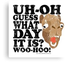 Camel Hump Day, Guess What Day It Is?!? Canvas Print