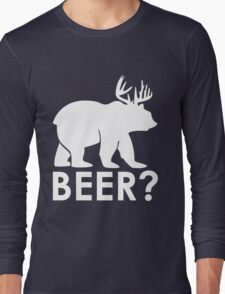 Bear with Horns Long Sleeve T-Shirt