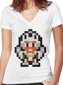 Pixel Sir Arthur Women's Fitted V-Neck T-Shirt