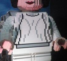 Lego - Princess Leia Sticker