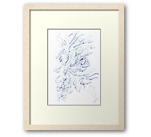 0313 - Mystic Blue Framed Print