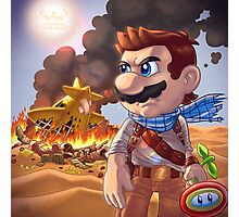 Mario X Uncharted 3 Photographic Print
