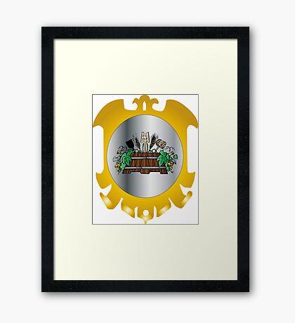 Guild of Brewers Framed Print