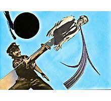 Blue Rain Black Sun Photographic Print