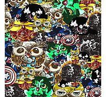 Marvel Owl Collage Photographic Print