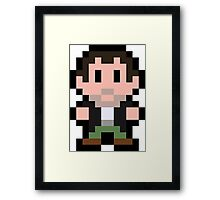 Pixel Frank West Framed Print