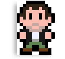 Pixel Frank West Canvas Print