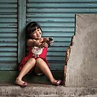 Girl in China Town by Michiel de Lange
