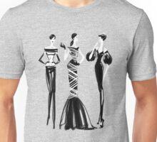 Three Fashionista's Unisex T-Shirt