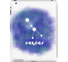 Cancer Constellation iPad Case/Skin