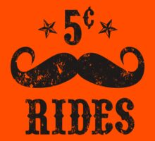 Mustache Rides by Carolina Swagger