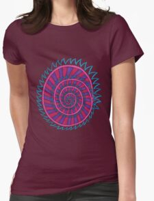 Spiked Striped Spiral (purple) Girl T-shirt T-Shirt