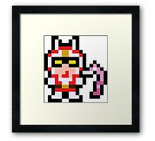 Pixel Viewtiful Joe Framed Print