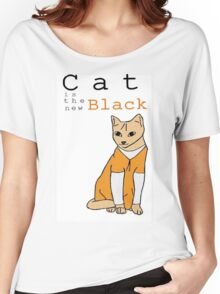 Cat is the new Black Women's Relaxed Fit T-Shirt